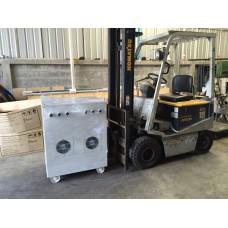 หม้อแปลง input 380/400 VAC  3P  output 200/220 VAC  140KVA
