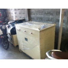 หม้อแปลง input 380/400 VAC  3P  output 200/220 VAC  150KVA