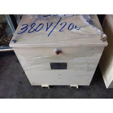 หม้อแปลง input 380/400 VAC  3P  output 200/220  50KVA
